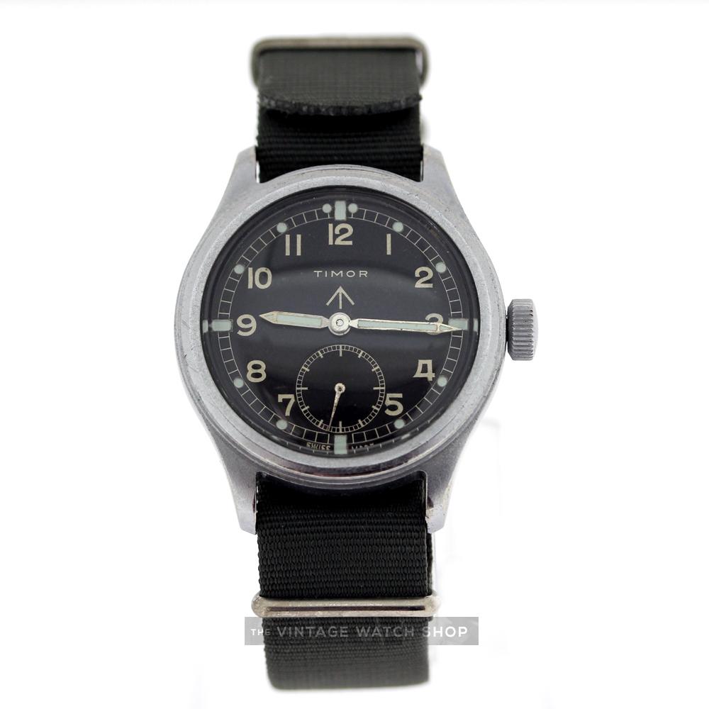 TIMOR Arrow Military Vintage Watch c.1944